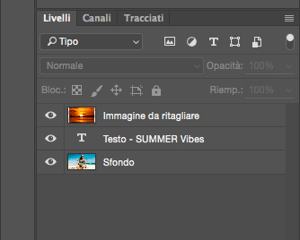 Come inserire un immagine nel testo con Photoshop